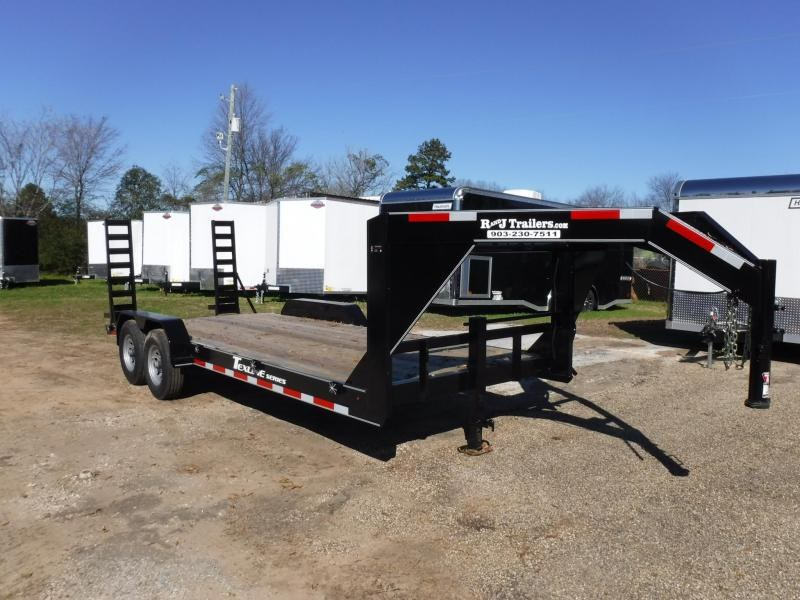 2019 TexLine 83 x 20 Bobcat Gooseneck Equipment Trailer