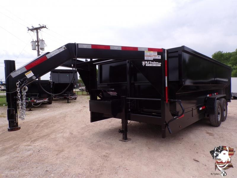 2020 Texas Pride Trailers 84 x 16 Gooseneck Telescopic  Dump Trailer
