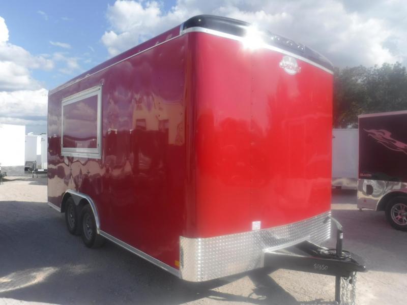 2019 Cargo Mate 8.5 x 16 Blazer Vending / Concession Trailer