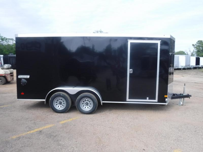 2020 Haulmark 7 x 16 Transport V-Nose Enclosed Cargo Trailer