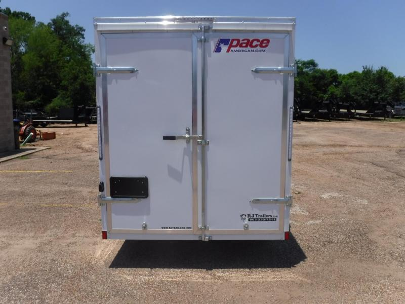 2019 Pace American 6 X 12 SA Enclosed Cargo Trailer