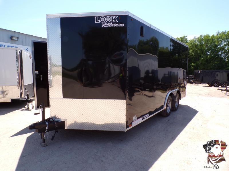 2021 Look Trailers 8.5 X 16 TA Element Enclosed Cargo Trailer