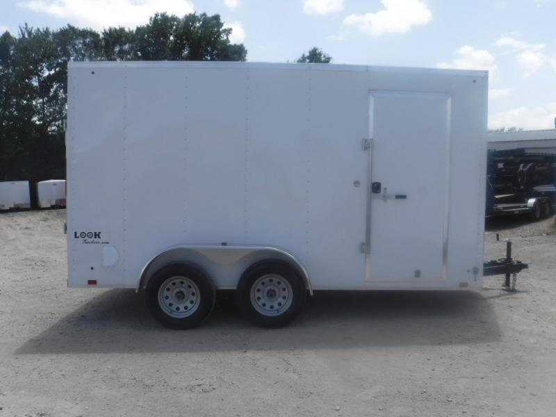 2019 Look Trailers 7 X 14 TA Element Enclosed Cargo Trailer