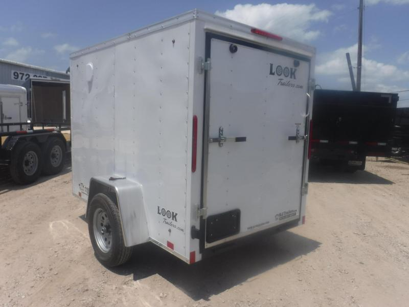 2019 Look Trailers 5 X 8 Element Enclosed Cargo Trailer