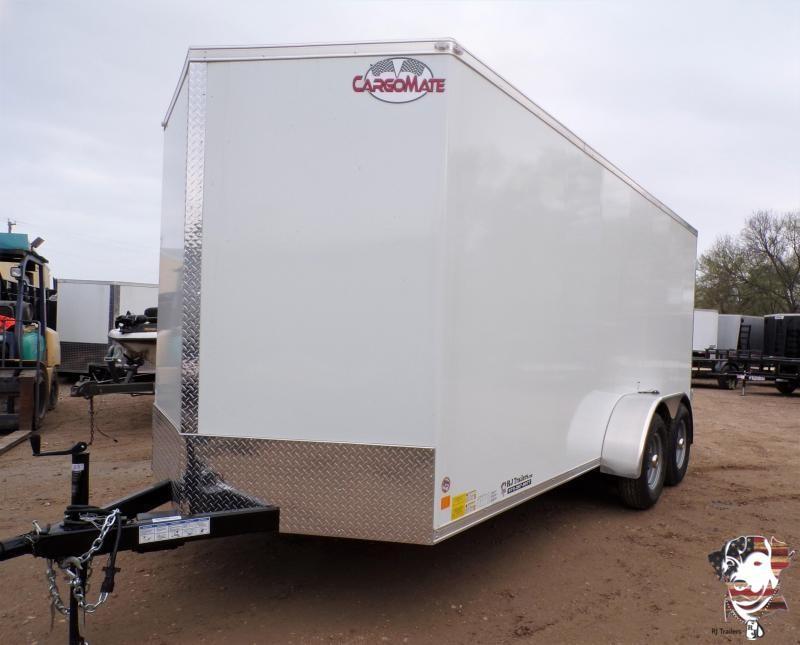 2021 Cargo Mate 7 x 16 LEE TA Enclosed Cargo Trailer
