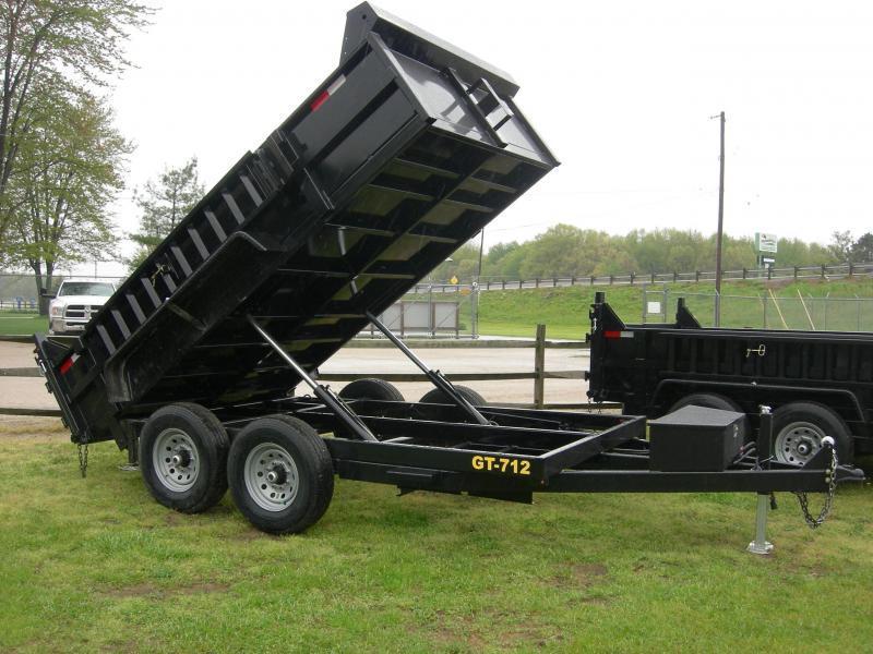 2020 Griffin GT712 Dump Trailer
