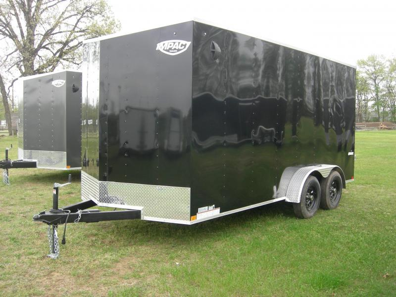 2021 Impact Trailers ISCAA7x16TA2 ATV Trailer