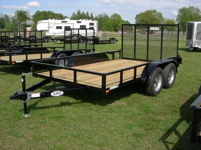2020 American Manufacturing Operations (AMO) UT76x12Land ATV Trailer