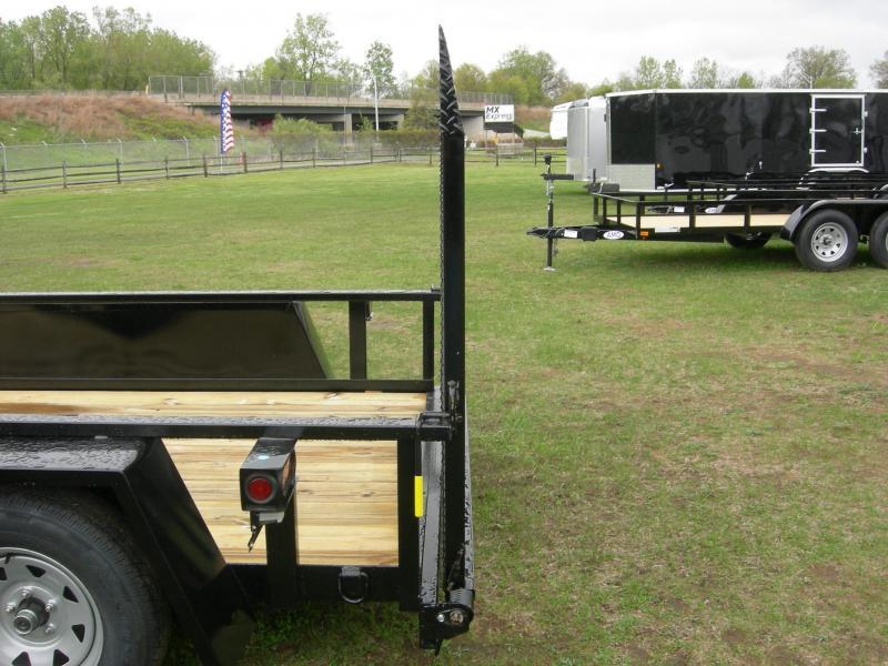 2020 American Manufacturing Operations (AMO) UT76x12Scissor Utility Trailer