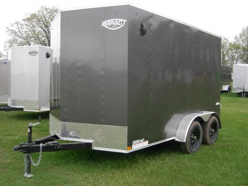 2021 Impact Trailers ISCAA7x12TE2 ATV Trailer