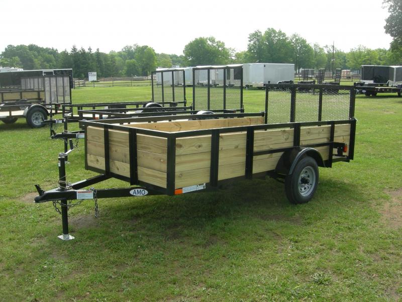 2020 American Manufacturing Operations (AMO) UL5x10HS Econo Utility Trailer