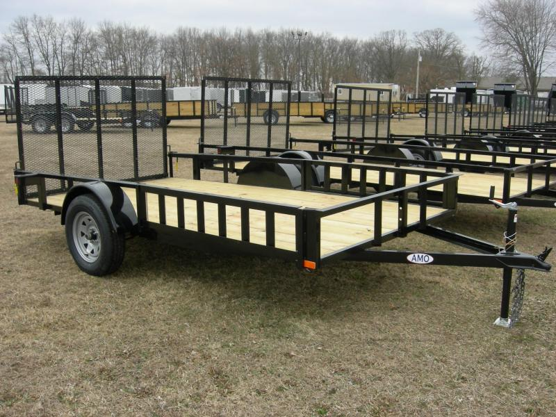 2020 American Manufacturing Operations (AMO) US76x12LS ATV ATV Trailer