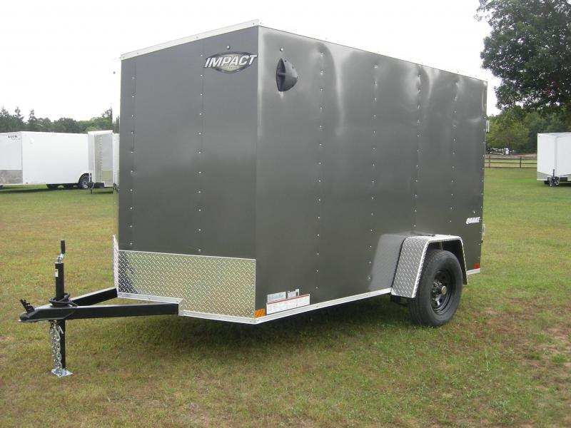 2020 Impact Trailers ISCAA6x10SI2 Enclosed Cargo Trailer