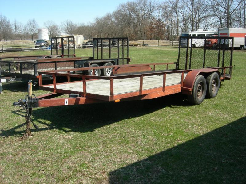 2007 Other 76x18TE2 Landscape Equipment Trailer