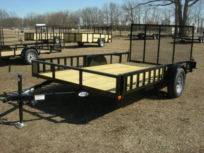 2019 American Trailers US8212ATV ATV Trailer