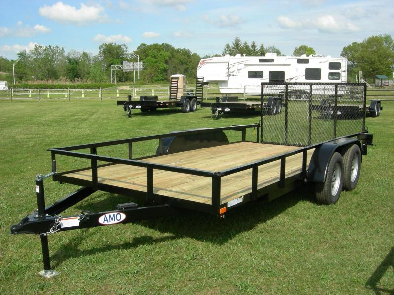 2020 American Manufacturing Operations (AMO) UT82x16 Land ATV Trailer