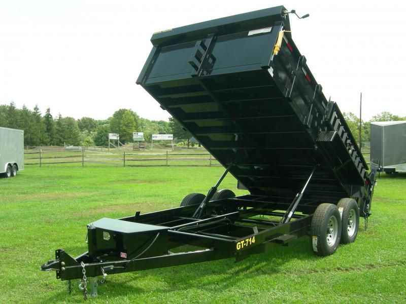 2020 Griffin GT-714 Dump Trailer