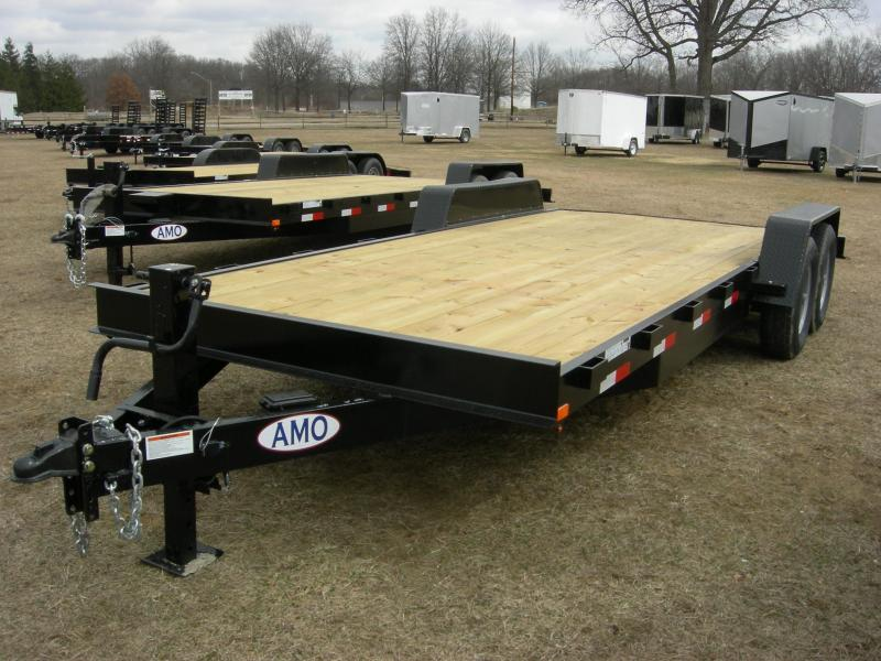 2020 American Manufacturing Operations (AMO) UG 20 Car Hauler Car / Racing Trailer