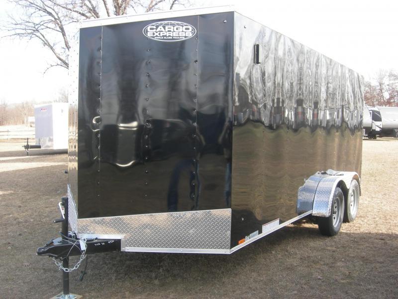 2019 Cargo Express EX7x16TE2 Enclosed Cargo Trailer