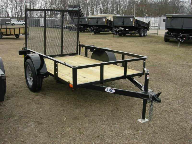2020 American Manufacturing Operations (AMO) US5x8LS Utility Trailer
