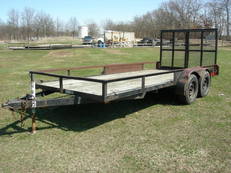 2007 Other 76x16 Lanscape Equipment Trailer