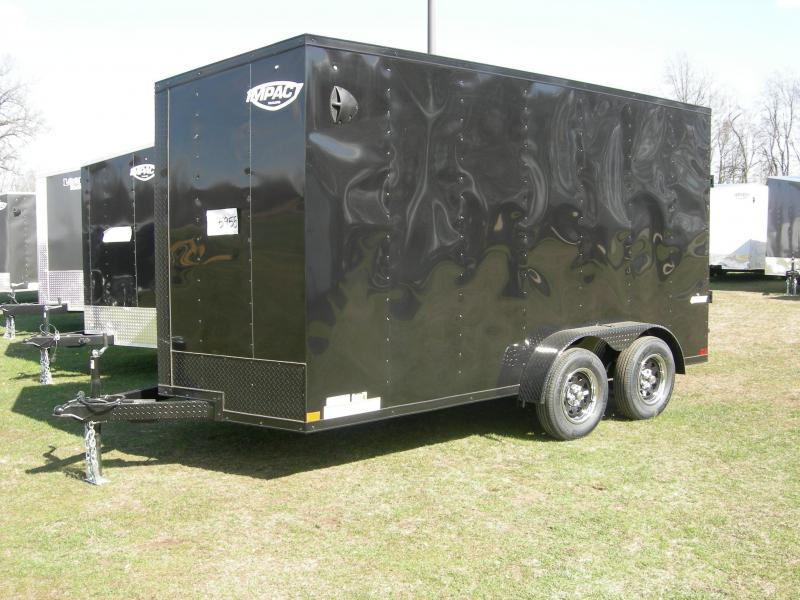 2021 Impact Trailers ISCAA7x14TE2 Enclosed Cargo Trailer