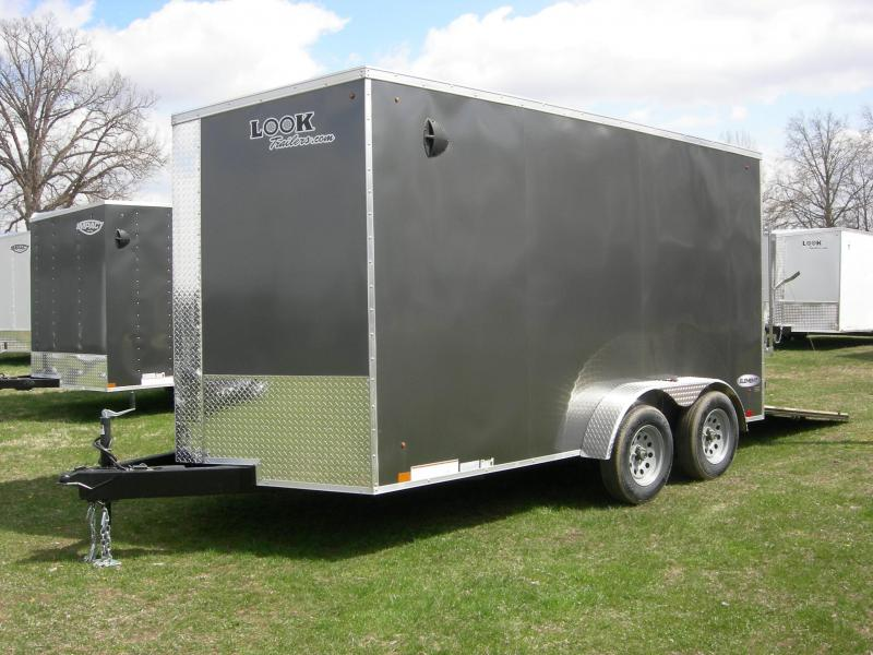 2021 Look Trailers LSCBC7x14TE2 Enclosed Cargo Trailer