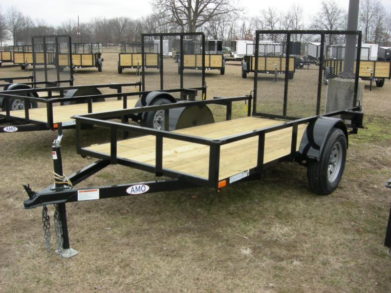 2020 American Manufacturing Operations (AMO) US5x10LS Utility Trailer