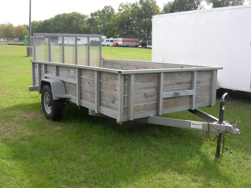 2015 American Manufacturing Operations (AMO) 76x12HS Utility Trailer