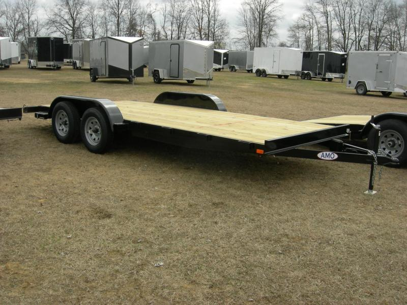 2020 American Manufacturing Operations (AMO) UT18 Car Hauler Car / Racing Trailer