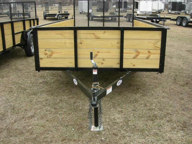 2020 American Manufacturing Operations (AMO) US76x12HS Utility Trailer