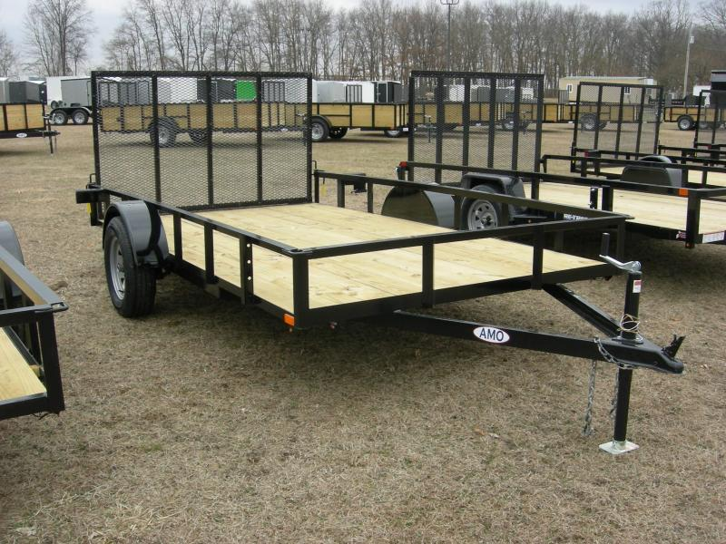 2020 American Manufacturing Operations (AMO) US82x12LS Utility Trailer