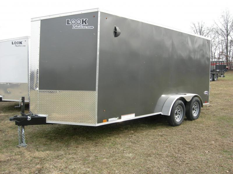 2021 Look Trailers EWLC7x16TE2 Enclosed Cargo Trailer