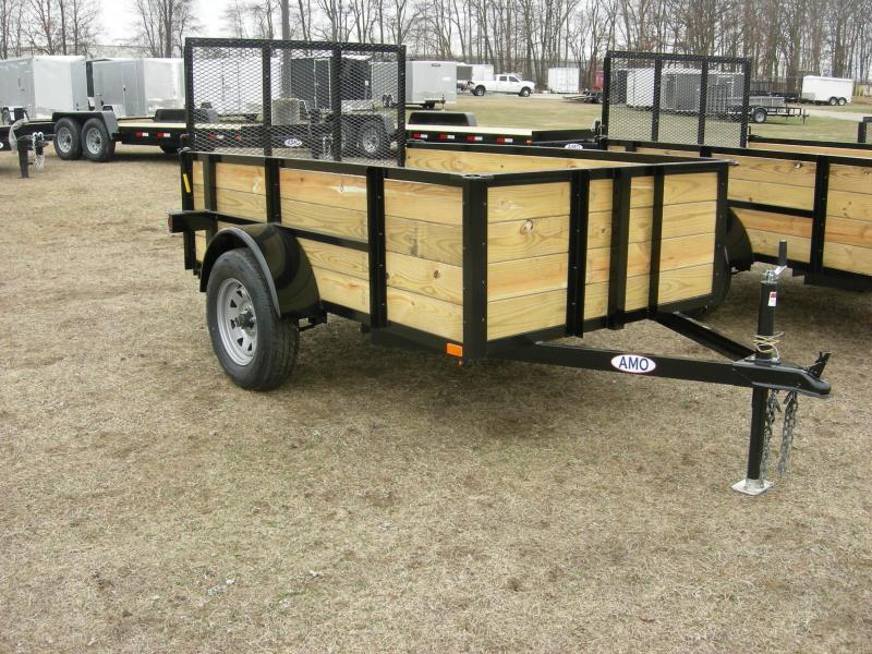 2020 American Manufacturing Operations (AMO) US5x8HS Utility Trailer