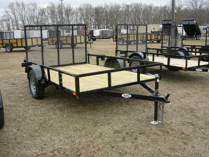 2020 American Manufacturing Operations (AMO) US76x10LS Utility Trailer