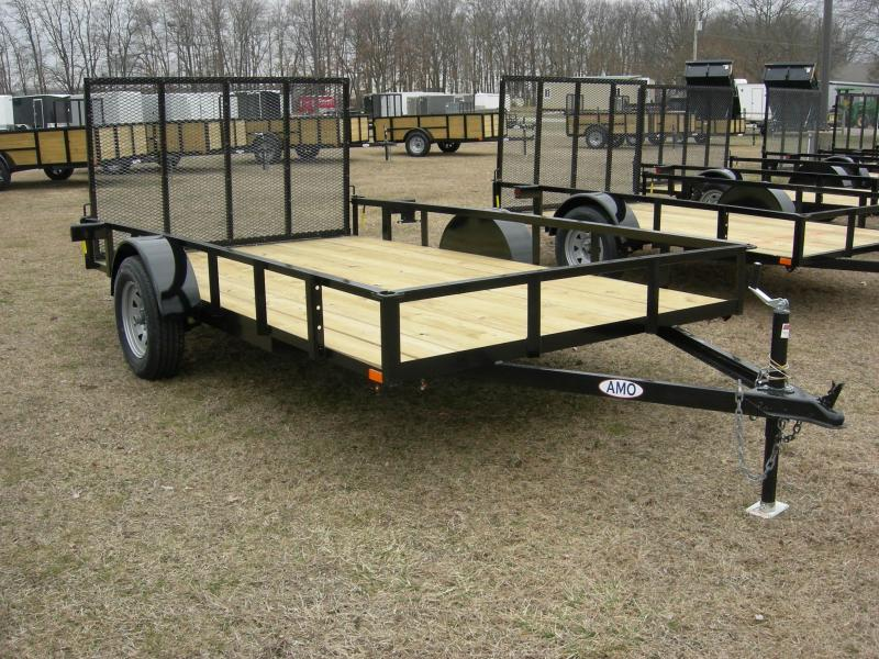 2020 American Manufacturing Operations (AMO) US76x12LS Utility Trailer