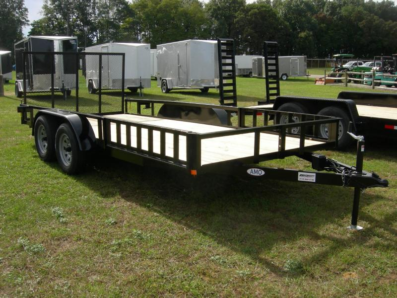 2020 American Manufacturing Operations (AMO) UT82x16TA2 Utility Trailer