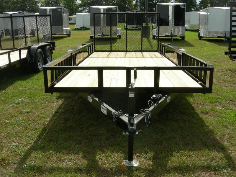2020 American Manufacturing Operations (AMO) UT82x16TA2 Utility Trailer