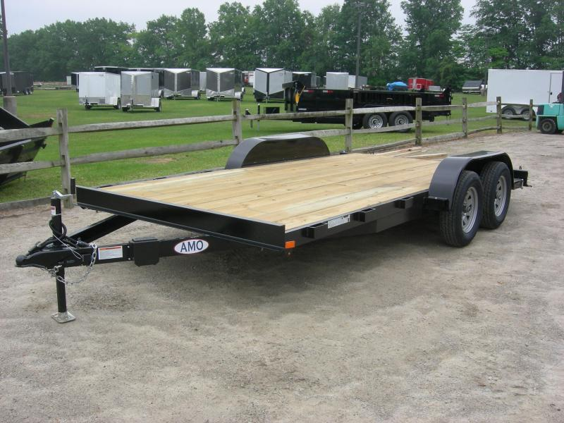 2019 American Manufacturing Operations (AMO) UT16Car Car / Racing Trailer