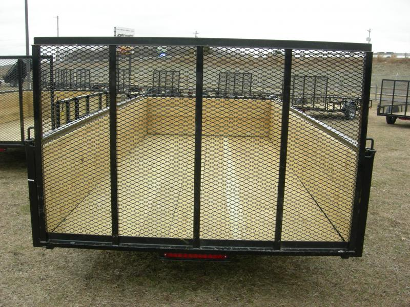 2020 American Manufacturing Operations (AMO) US76x14HS Utility Trailer