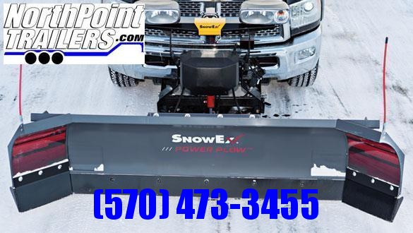 SnowEx 8100 Power Plow - SALES REP DEMO - HUGE DISCOUNT! CALL TODAY