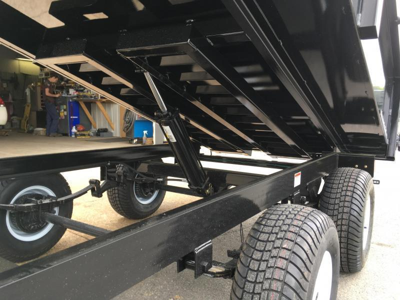 2019 XRT-418 Dump Trailer - Barn Doors w/ Slide Out Ramps
