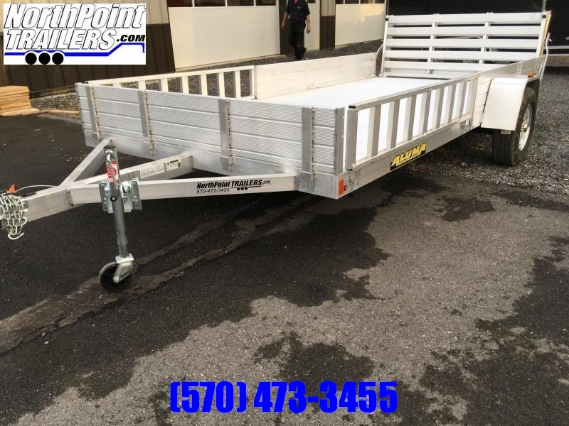 2020 Aluma 7816R Tandem Axle Utility Trailer | NorthPoint