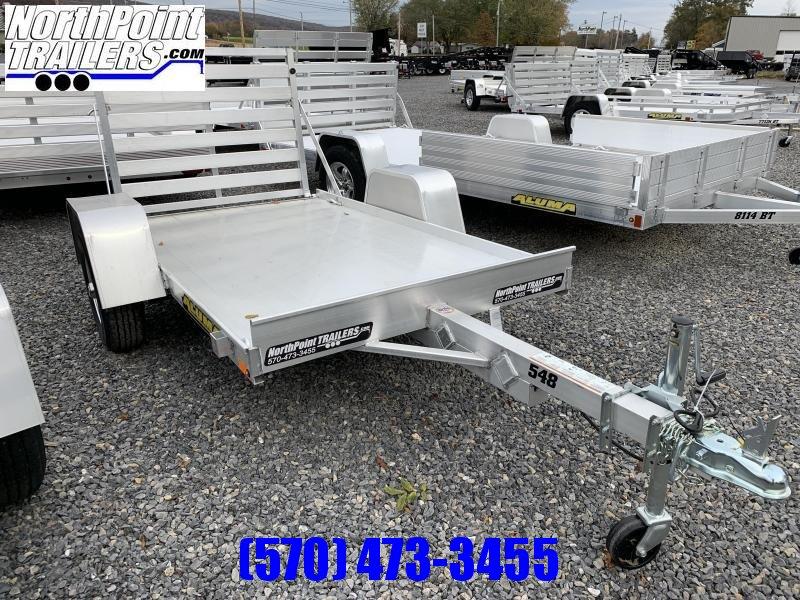 """2020 Aluma 548LW - 54"""" x 8' Utility Trailer w/ 12"""" Solid Sides"""