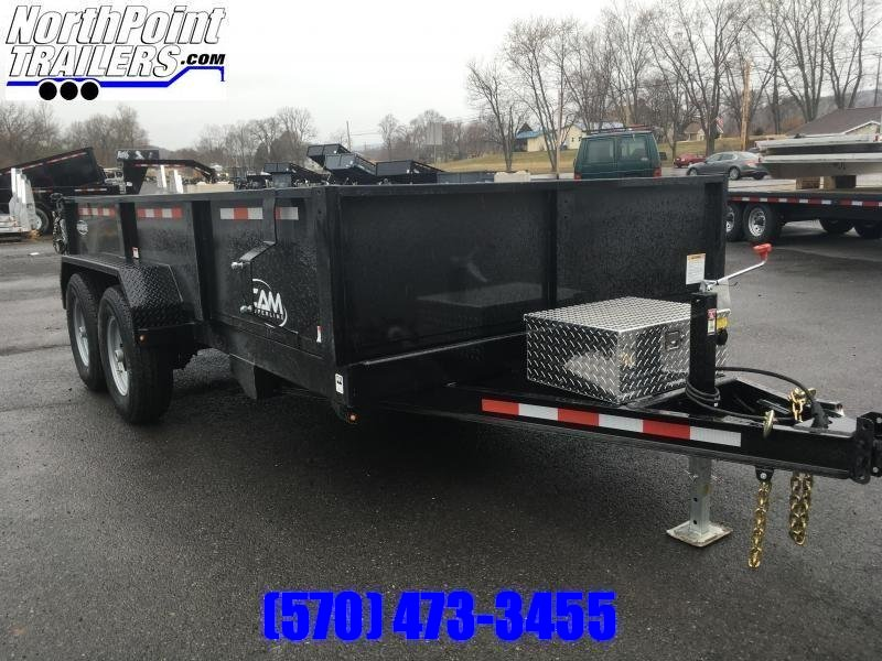 2019 CAM Advantage 7x14 - 14k Heavy Duty Dump Trailer