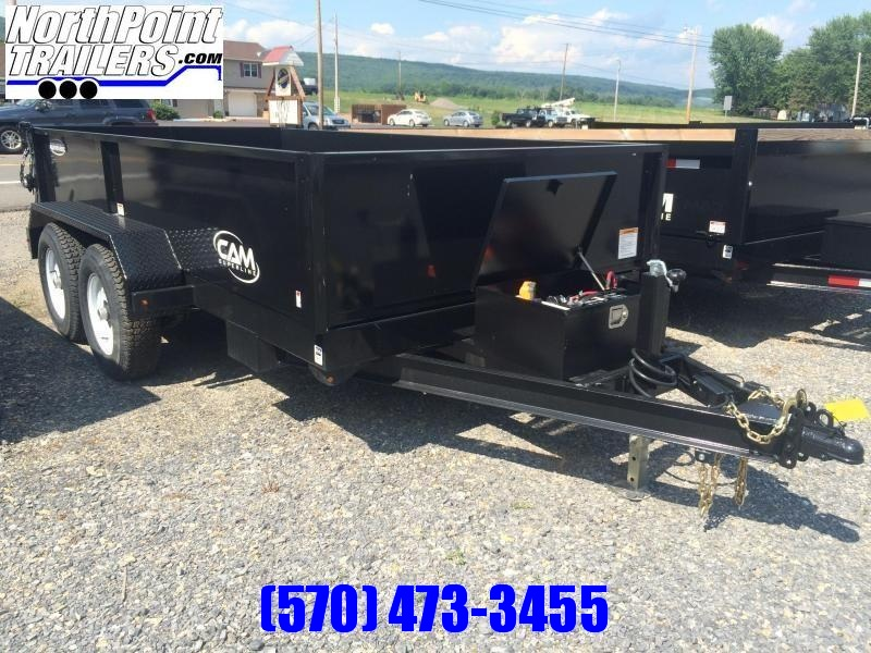 2020 CAM Advantage 7x12 Dump Trailer 12K