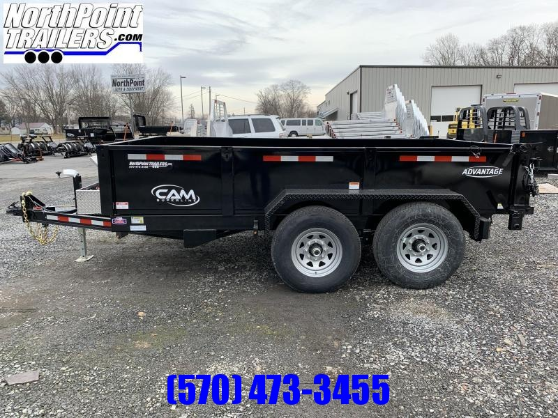 2020 CAM Advantage 7x12 Dump Trailer -12K Heavy Duty Dump Trailer