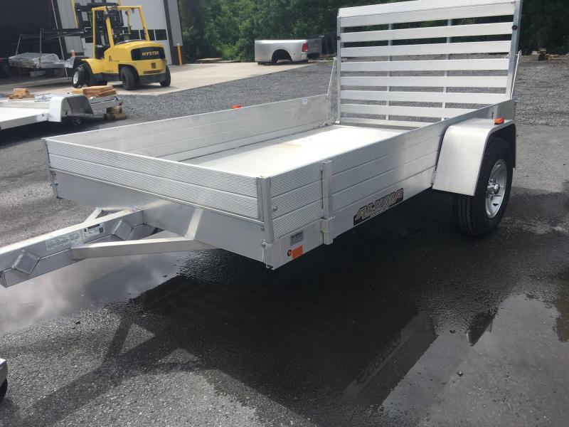 2017 Aluma 7210H Aluminum Utility Trailer w/ Solid Sides