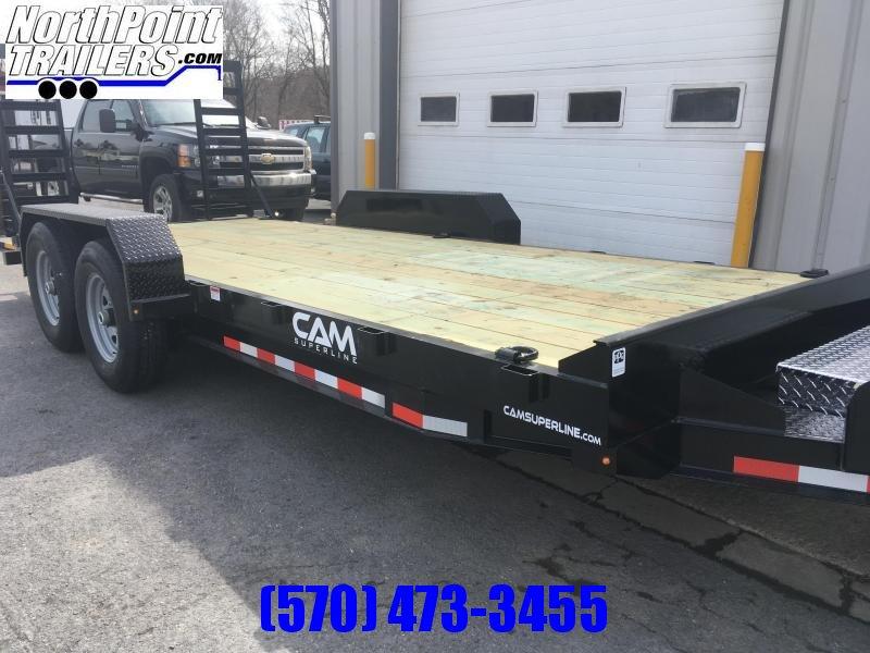 2020 Cam 18' Channel Frame Equipment Trailer - 16,100 GVWR