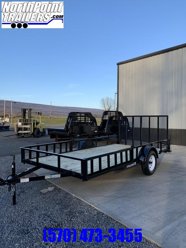 2020 Premier Trailers Inc. 102 x 14 Utility - ATV Trailer